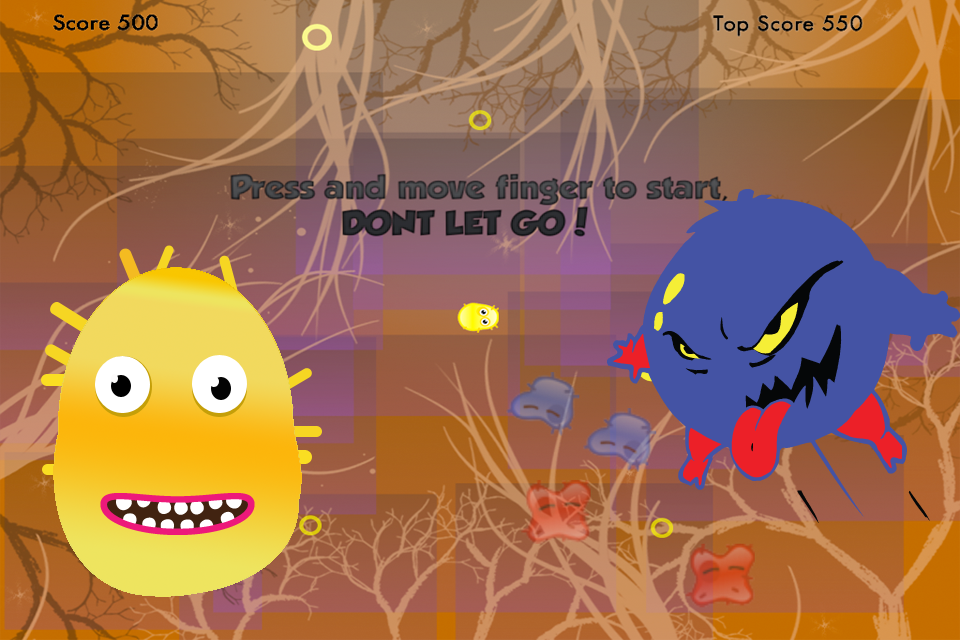 Screenshot Escape Virus